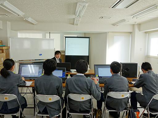 函館亀田ロータリークラブの活動 「中学生の職業体験事業」実施しました。